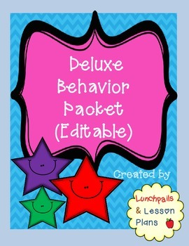 Deluxe Behavior Pack (Editable)