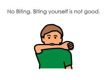 Deluxe Behavior Social Story: No Biting
