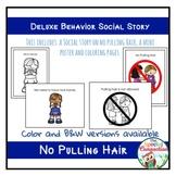 Deluxe Behavior Social Story: No Pulling Hair