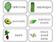 Deluxe Fruit and Vegetable Printable Flashcards. Preschool- Kindergarten Math.