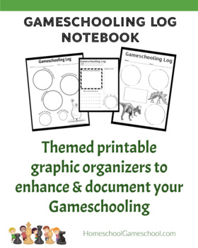 Deluxe Gameschooling Documentation Log - Document your educational gaming
