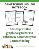 Deluxe Gameschooling Documentation Log - Document your edu