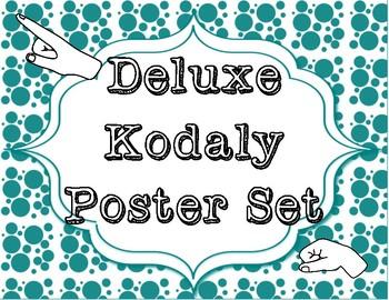 Deluxe Kodaly Poster Set