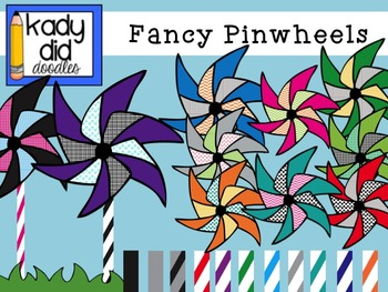 Deluxe Pinwheel Set: over 50 images