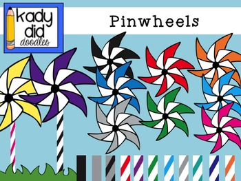 Deluxe Pinwheel Set: over 50 images