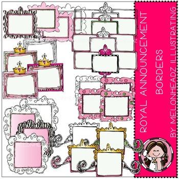 Royal Announcements clip art - COMBO PACK- by Melonheadz