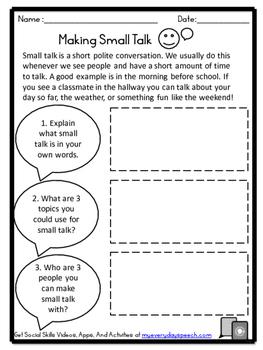 Deluxe Social Skills Bundle-Master Conversations!