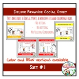 Deluxe Social Stories: Behavior Edition Set #1