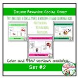 Deluxe Social Stories: Behavior Edition Set #2