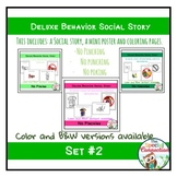 Deluxe Social Stories: Behavior Edition Set #2