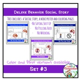 Deluxe Social Stories: Behavior Edition Set #3