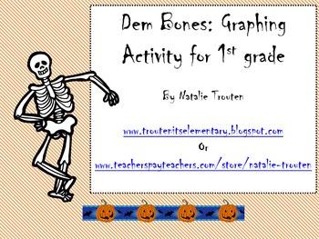 Dem Bones Graphing Activity