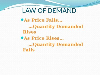 Demand Power Point
