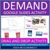 Interactive Demand Powerpoint Project High School Economics