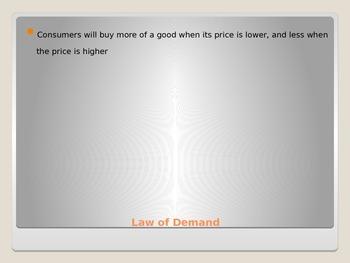 Demand Unit Economics Notes and PowerPoint Presentation