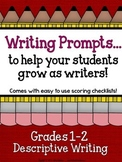 Demand Writing Prompt Set:  Descriptive Writing Primary Edition