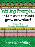 Demand Writing Prompt Set:  Narrative Writing