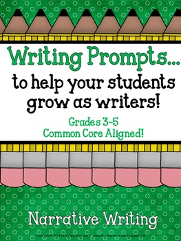 Demand Writing Prompt Set:  Narrative Writing