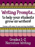 Demand Writing Prompt Set:  Narrative Writing Primary Edition