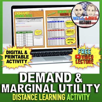 Demand and Marginal Utility Activity