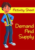 Demand and Supply - Activity Handout (Economics)