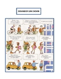 Demander son chemin, asking for and giving directions in French, speaking