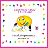 Introducing sentence punctuation