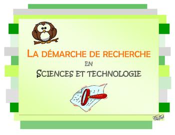 Démarche de recherche en sciences et technologie, cycle primaire