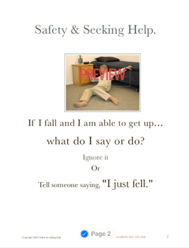 Dementia: Safety and Seeking Help Book