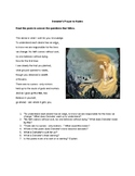 Demeter´s Prayer to Hades (pair text with Flowers for Alge