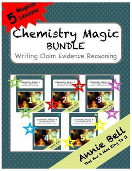 Demonstration Lab Bundle CER - 5 Complete Chemistry Demos