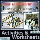 Democracy Student Work Booklet & Activities