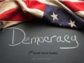 Democracy BUNDLE-3rd Social Studies