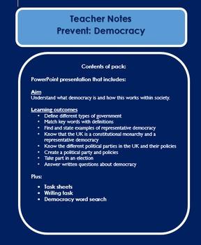 Democracy: British Values