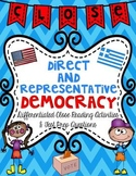 Democracy Close Reading Passages & Test Prep Questions Mini Unit