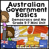 Australian Government Basics Mini Unit