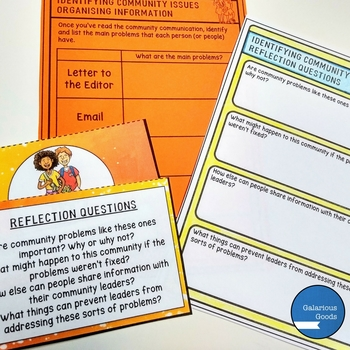 Community - Participating in Communities - Lesson Activities