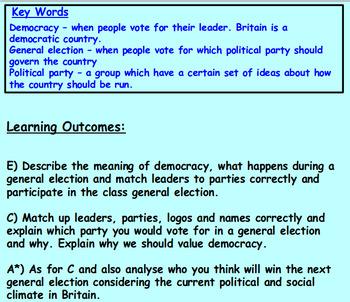 Democracy and Voting