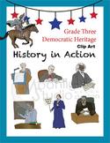 Historical Figures (Paul Revere, Susan B. Anthony, Eleanor Roosevelt)