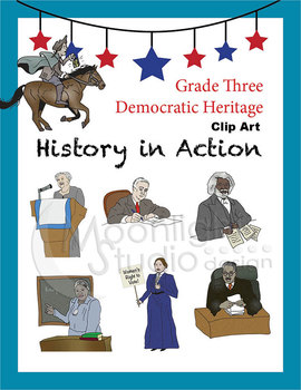 Historical Figures (Paul Revere, Susan B. Anthony, Eleanor Roosevelt)