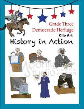 Historical Figures (Paul Revere, Susan B. Anthony, Eleanor