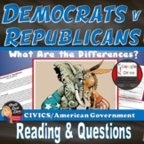 Democrats v Republicans | What are the Differences? | DIST