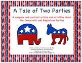 Democrats vs. Republican Politics Compare/Contrast Article
