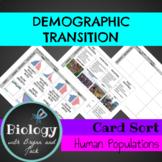 Demographic Transition Card Sort