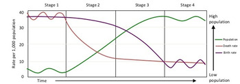 Demographic Transition Model (DTM) Lesson