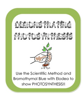 Demonstrating Photosynthesis w/ Bromothymol Blue Experiment - Scientific Method