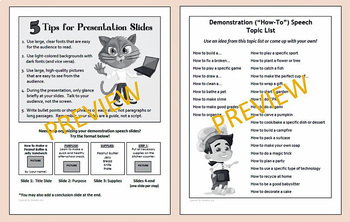 """Demonstration """"How-To"""" Speeches for Kids"""