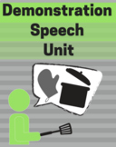 Demonstration Speech Lesson Plan Bundle (11 Items)
