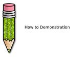 Demonstration Speech Power Point