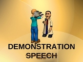 Demonstration Speech